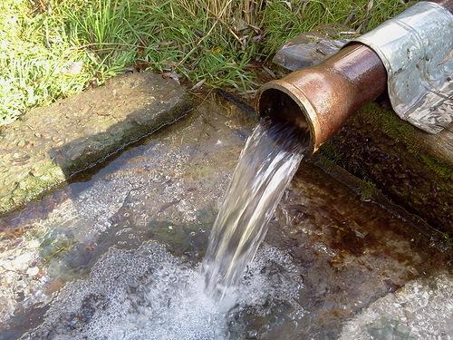 Очистка водяной скважины