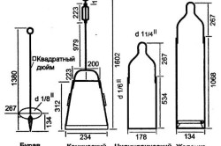 Схема строения бурового снаряда