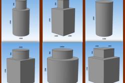 Стандартные размеры и формы металлических кессонов