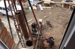 Принцип работы ударно канатной установки