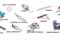 Инструменты для монтажа ручного насоса