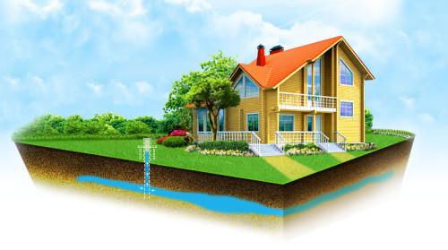 Определение глубины скважины на воду